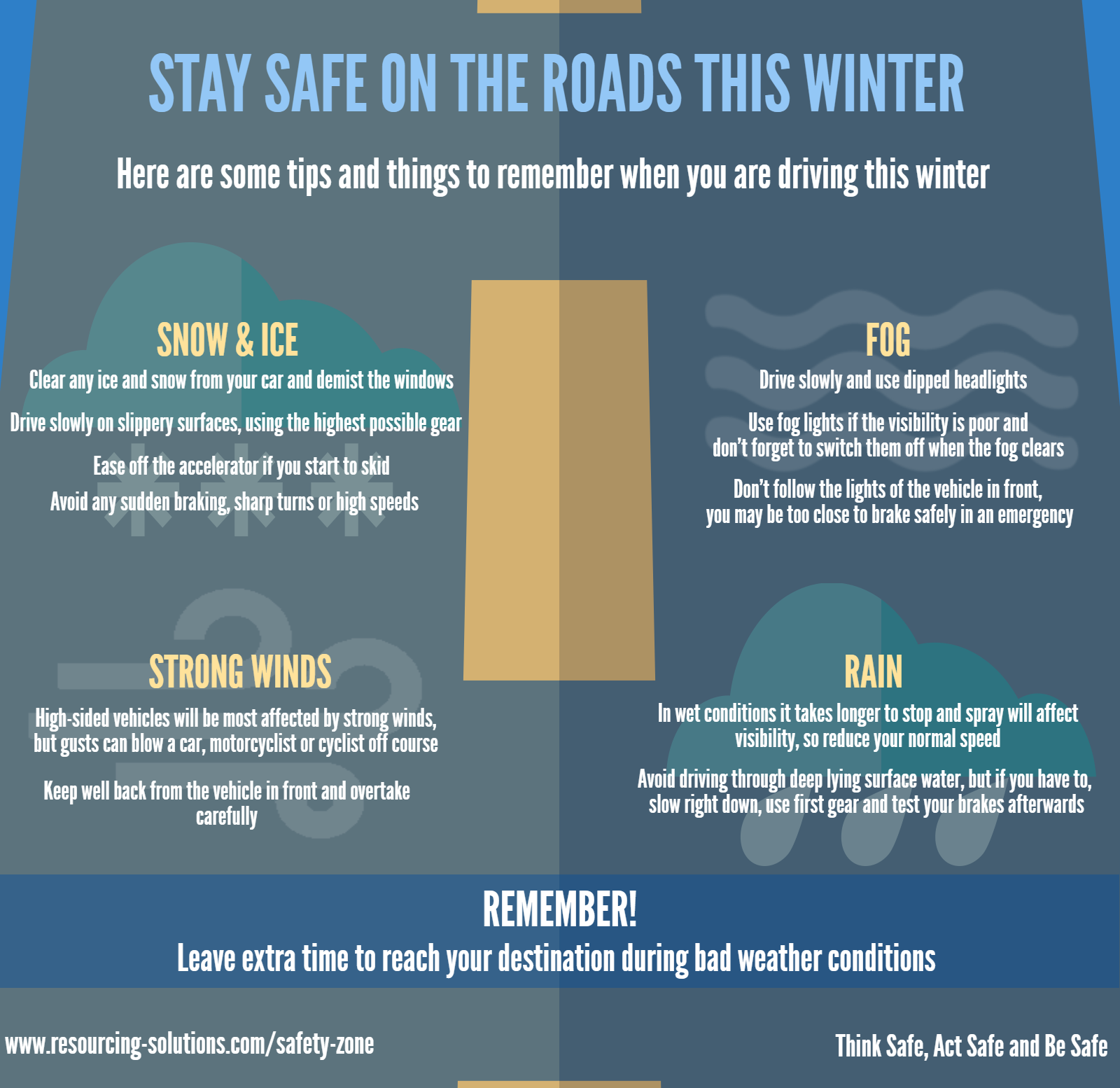 Stay safe on the roads this winter