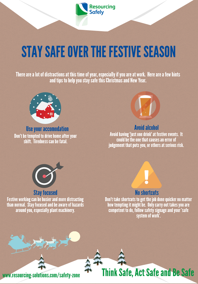 Stay safe over the festive season