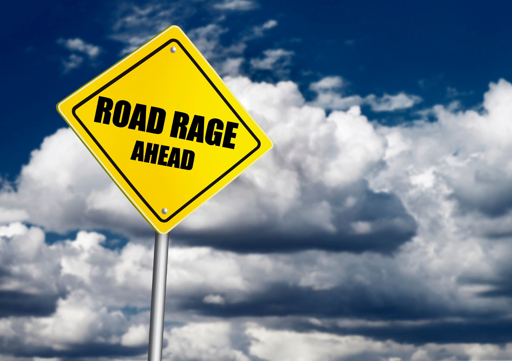 Road rage is a real danger
